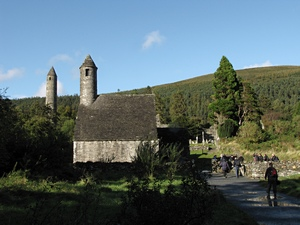 On pilgrimage to Glendalough